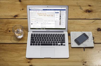 Gründe, warum man eine Facebook Seite pflegen sollte Bild oben