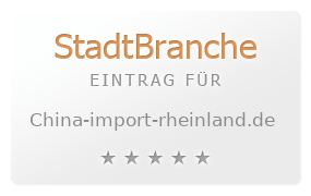 China Import Rheinland