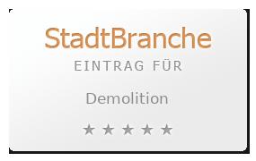 Demolition Bewertung & Öffnungszeit
