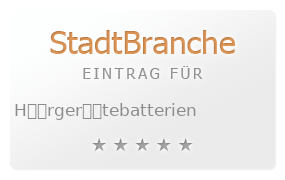 H��rger��tebatterien Bewertung & Öffnungszeit