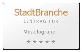 Metallografie Bewertung & Öffnungszeit