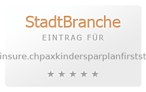 PAX First Step Kindersparplan -