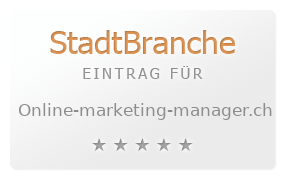 online marketing manager.ch   Diese Website