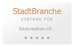 SITECREATION Webdesign Thun