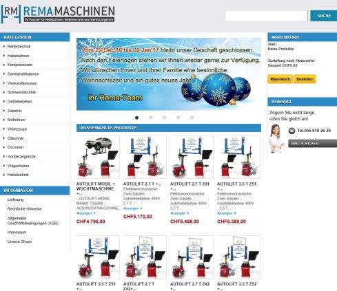 Garageneinrichtungen  Auto Lift Shop › Autolift Niederurnen