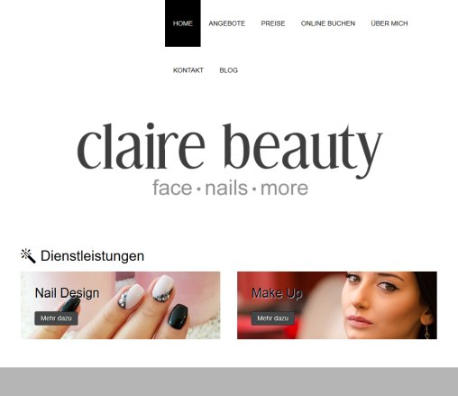 claire beauty - face nails & more Öffnungszeit