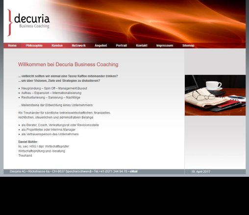 Home   decuria Business Coaching Decuria AG Öffnungszeit
