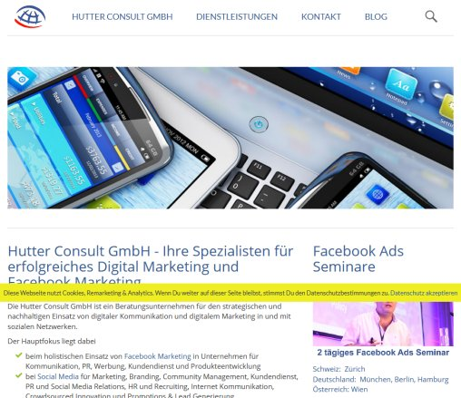 Hutter Consult GmbH | Facebook Marketing | Social Media Hutter Consult GmbH Öffnungszeit