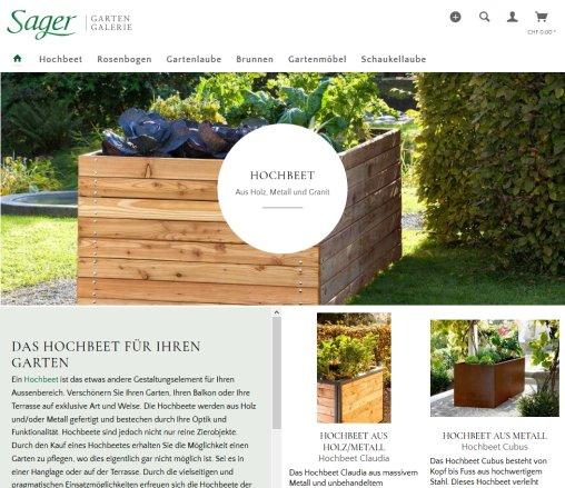 ᐅ Sager Gartengalerie Hochbeet Hochbeete 2019
