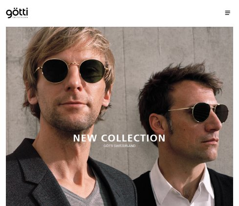Götti Switzerland   Dedicated to the world of eyewear design  Öffnungszeit