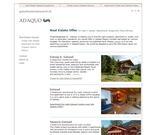 Saanen Gstaad Real Estate   Chalet for Sale  Öffnungszeit