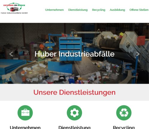 HUBER Industrieabfälle GmbH | Recycling Ostschweiz  Abfallentsorgung Thurgau  Recycling Amriswil HUBER Industrieabfälle GmbH Öffnungszeit