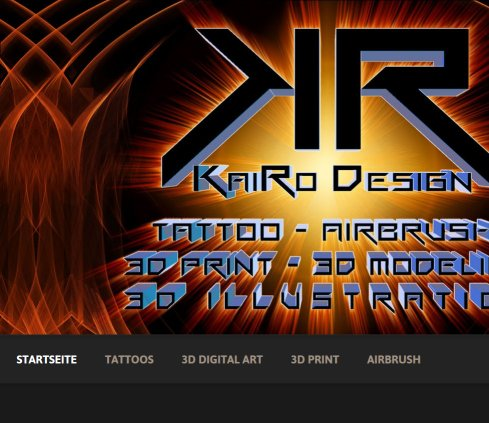 Kairo Design - Digital Illustration, Airbrush & Tattoo Öffnungszeit