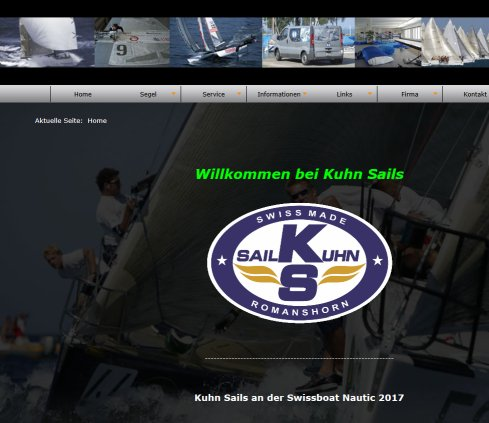// ULLMAN SAILS SWITZERLAND  KUHN SAILS  KUHN SAILING CENTER  Sonnensegel // die Segelmacherei im Kuhn Sailing CenterHome Kuhn Sailing Center GmbH Öffnungszeit