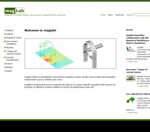 Index: maglab LLC   magnetic system design and measurements  Öffnungszeit