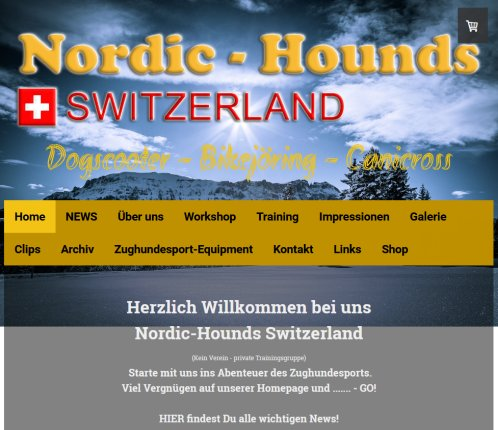 Nordic Hounds Zughundesport Dog Scooter   nordic hounds Switzerland  Öffnungszeit