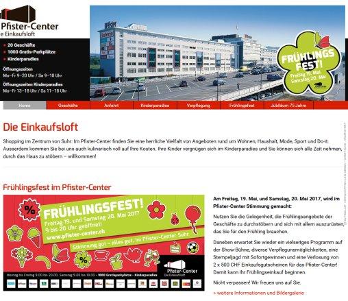 ᐅ Pfister Center Pfister Center Uhr Aarau 2019