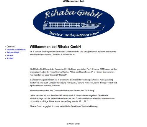 Willkommen Bei Rihaba GmbH | › Gmbh Riehen 2019
