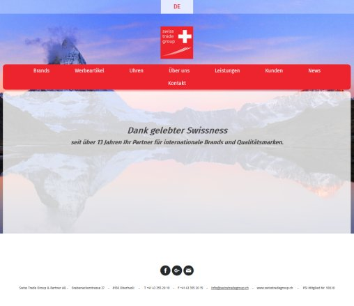 swiss trade group  partner ag | Home swiss trade group  partner ag Öffnungszeit